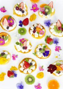 花ケーキたくさん