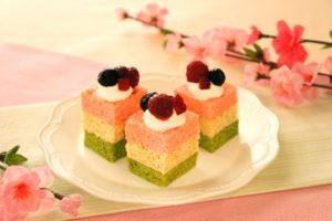 ひし形ケーキ,ひしもち