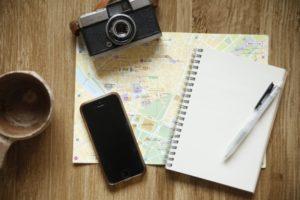 旅行,計画,スマホ