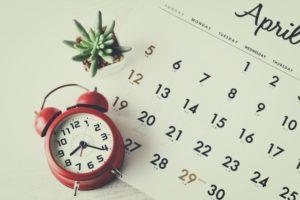 カレンダー,時計